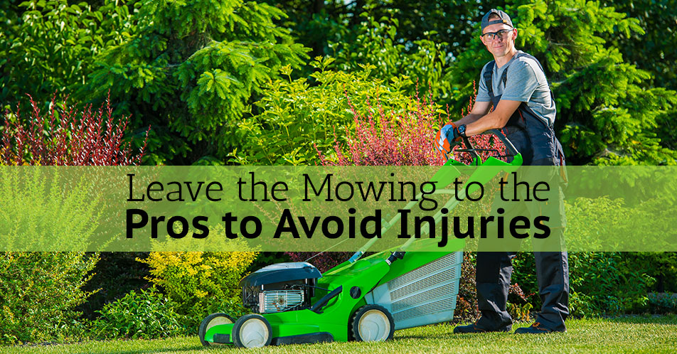 Avoiding Mowing Injuries Lawn Care Company Columbus Ohio Lewis Center
